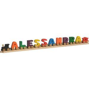 10 Letter alphabet name train
