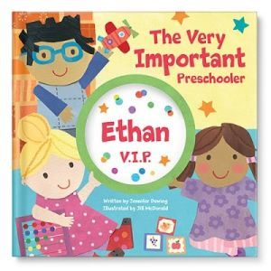 The Very Important Preschooler (V.I.P.) Personalized Story Book