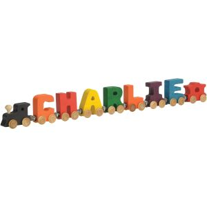 7 letter wooden name train Maple Landmark