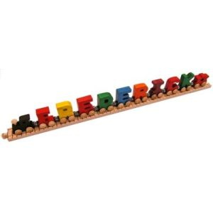 9 letter alphabet name train