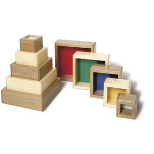 Wooden Stacking Tower