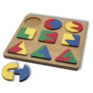 Geometry Shapes Perception Learning Toy