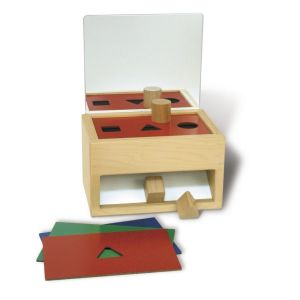 Shape Sorter Toy with Mirror