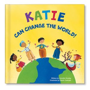 I Can Change the World Personalized Story Book