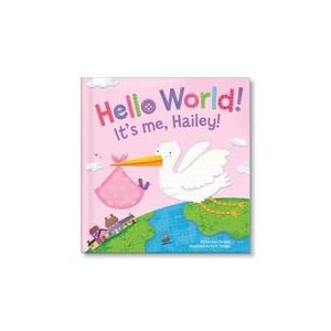 Hello World! for girls Personalized Story Book