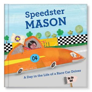 Speedster - Personalized Story Book