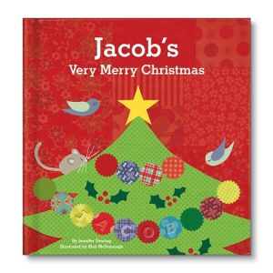 My Very Merry Christmas Personalized Story Book