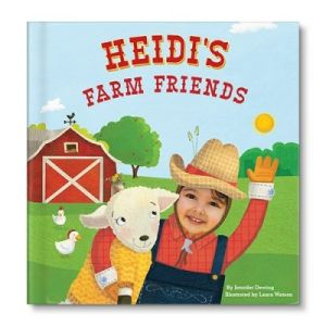 My Farm Friends Personalized Story Book