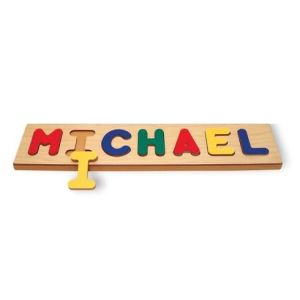 11 Letter Name Puzzle Board