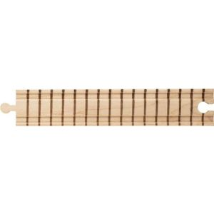 8 Inch straight wooden train track