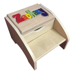Two Step Name Stool