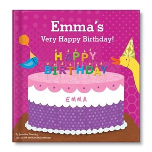 My Very Happy Birthday for Girls Personalized Story Book