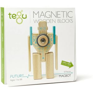 Tegu Magbot Magnetic Wooden Block