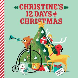 My 12 Days of Christmas Personalized Story Book