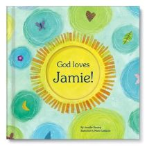 God Loves You! Personalized Story Book