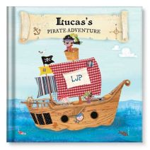 My Pirate Adventure Personalized Story Book