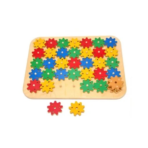 Gears Puzzle Toy